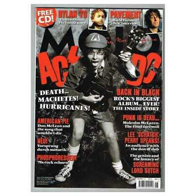 Mojo Magazine June 2010 MBox2884/A AC/DC Back in Black - Dylan '70 - Pavement