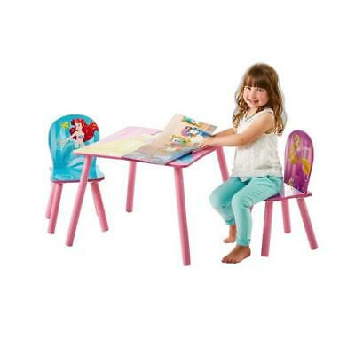 DISNEY PRINCESSES Ensemble Table Et 2 Chaises
