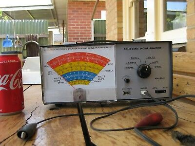 Vintage Solid State Engine Analyzer – Made in Japan