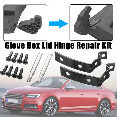 Glove Box Lid Hinge Snapped Repair Kit Z Brackets For Audi A4 S4 RS4 B6 B7 8E