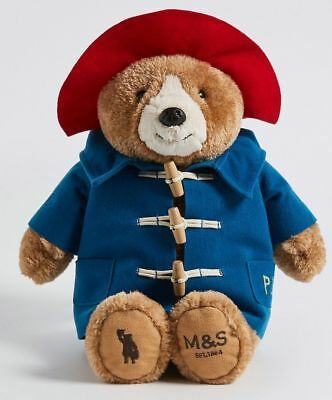 M&S London Paddington Bear Teddy Plush Toy Limited Edition Collectable