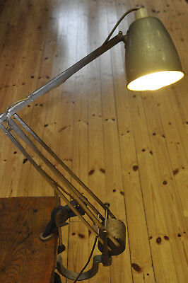 Vintage Hadrill Horstmann Counter Balance Wall Lamp Machinists Anglepoise