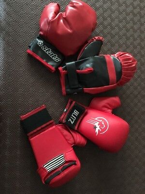 Stats & Blitz Kids Boxing Gloves 11-14