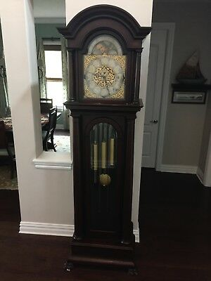 S. Stern Antique Grandfather Clock made in Kingston NY