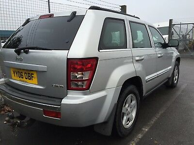 06 Jeep Grand Cherokee 3.0 Crd Limited 13 Service Stamps, Leather, Climate, Allo