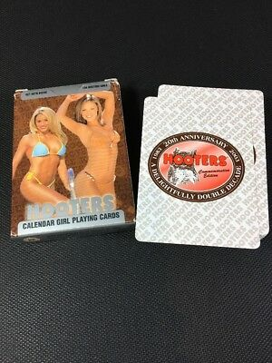 2003 20th Anniversary Hooters Calendar Girl Playing Cards 5D