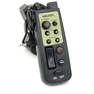 eBenk LANC Zoom Tripod Controller Remote for Canon & Sony Camcorders with LANC