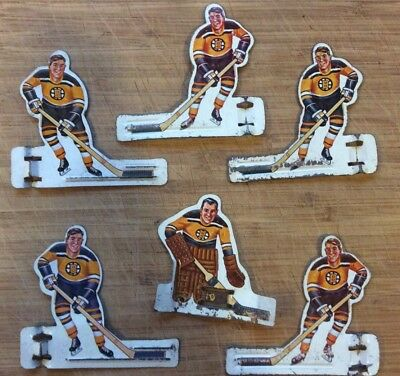 1960's Coleco Table  Hockey Players - Boston Bruins