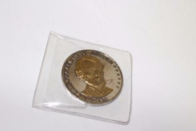 Challenge Abraham Lincoln 1809-1984 175th Anniversary Bronze Coin! FREE SHIP!