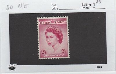 Southern Rhodesia No 80 Never Hinged