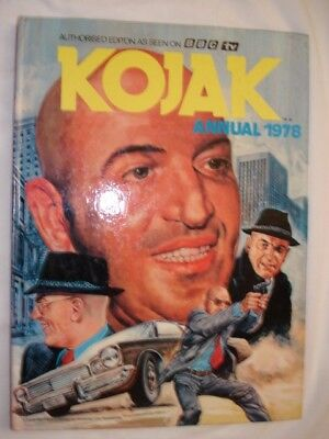 Kojak Annual 1978 Excellent Condition ~ Collectable