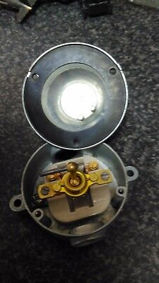 Vintage LEWDEN Factory ON/OFF Light switch missing outer screw new old stock