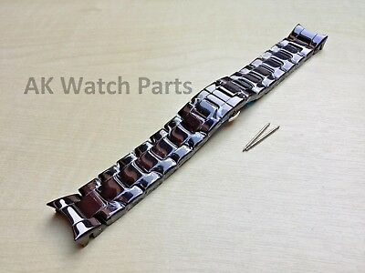 Spare Black Ceramic Strap Fits Emporio Armani AR1410 Watch Bracelet/Band/Link