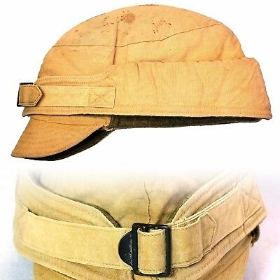 Vintage m1907 winter army hat cap wool lined buckle front workwear wwi 1930s ccc