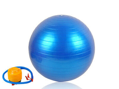 Gymnastikball 55 - 75 cm mit Pumpe Fitnessball Trainingsball für Training #248