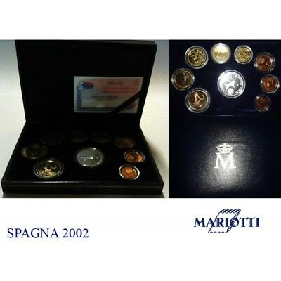 2002 Spain Divisional Proof 9 Coins Mf8835