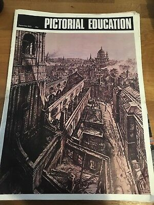 Pictorial Education Magazine Issues 1973-1977