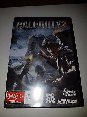 CALL OF DUTY 2 Pc CD Rom Game