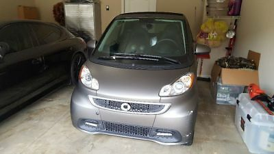 2014 Smart Fortwo  2014 Smart fortwo Electric Cabriolet Loaded