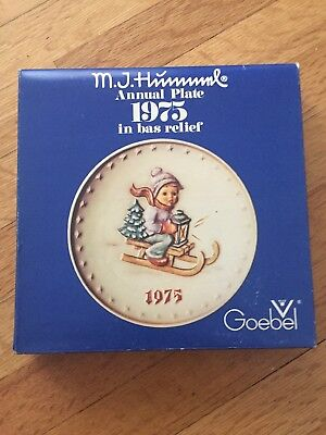 M.J. Hummel Goebel 1975 Annual Plate Collection