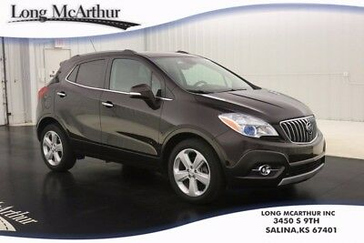 2015 Buick Encore 6 SPEED AUTOMATIC FWD PREMIUM CONVENIENCE SUV ONE OWNER! UPSCALE CLOTH WITH LEATHERETTE ACCENTS TRIM REAR CROSS-TRAFFIC ALERT