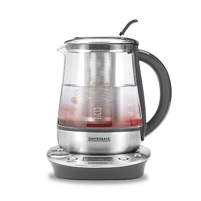 Gastroback 42438 Glaswasserkocher Design Tea & More Tee- /Wasserkocher 1400 Watt