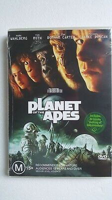 Planet Of The Apes [DVD] NEW & SEALED, Region 4, FREE Next Day Post from NSW