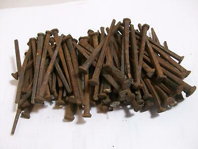 """Indiana Barn Find==100 Plus  Vintage Square Cut Nails -2-1/2"""" Long"""