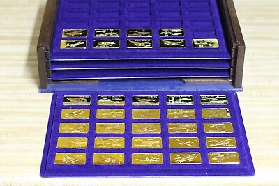 Franklin Mint Jane's Medallic Register of Great Aircraft - Ingots -1st edition