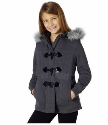 Limited Too Girl's Sherpa Lined Hooded Mid-Weight Jersey Jacket *VARIETY*