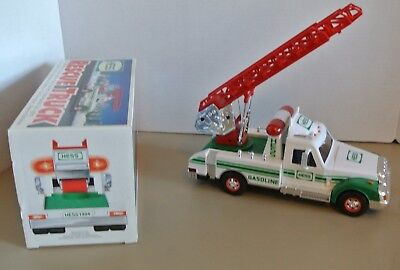 """Hess """"Rescue Truck"""" 1994 Holiday Collectible Toy- Used  w/Box"""