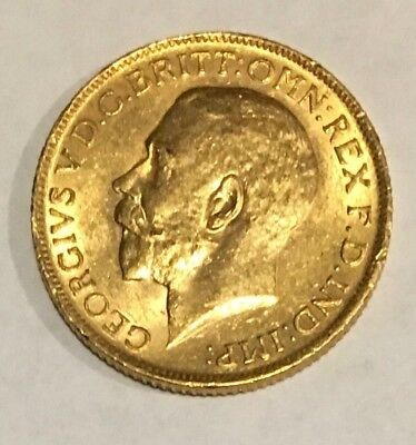1911 Great Britain Gold Sovereign - George V