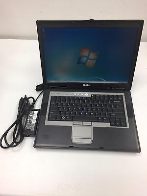 "Dell Latitude D820 Intel Core 2 Duo 1.83GHz 15.4"" 4GB 80GB HDD Laptop Windows 7"