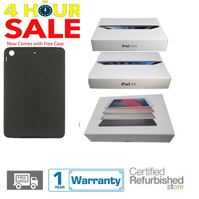 Apple Refurbished iPad 2/3/4 Mini/2 Air/2 16GB/32GB/64GB/128GB WiFi+Cellular