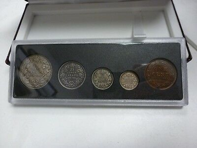 1908 - 1998 90th Anniversary Proof Coin Set .925 Silver RCM # 24102