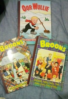 3 x THE BROONS & OOR  WULLIE - 2001, 03, 04 Good Condition