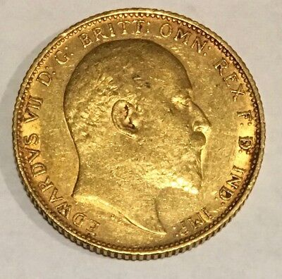1904 Great Britain Full Gold Sovereign - Edward VII