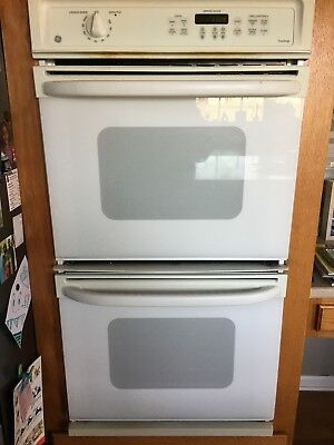 Ge 27 Double Oven White Electric Model Jkp27w0a1ww