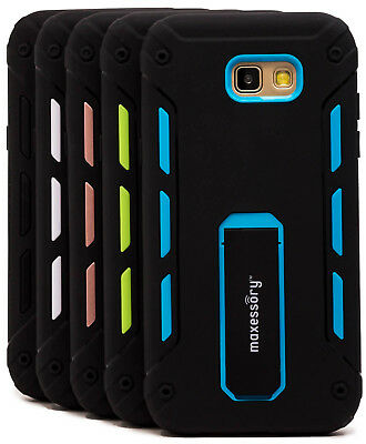 Heavy-Duty Kickstand Hybrid Cover for Samsung Galaxy A7 2017 Case
