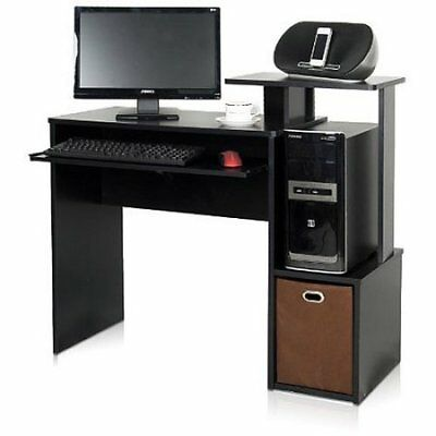 Furinno Home Office Computer Desk with Bin