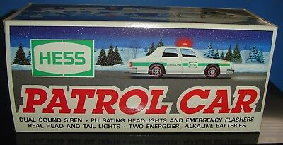 Hess Patrol Car 1993 (NIB) Hess Truck 1993 Mint In Box