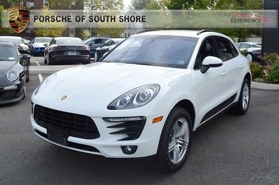2015 Porsche Macan S Warranty Front Seat Heating Roof Rails Black Thermal Insulated Glass 2-Zone