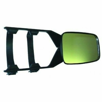 Towing Mirror Multi Fit 4wd Caravan Single Universal Heavy Duty Clip On Trailer