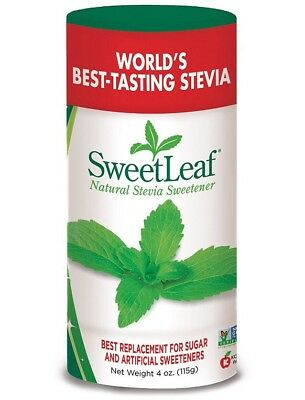 Sweet Leaf Stevia Plus Powder, 4 Ounce. New! Sealed!