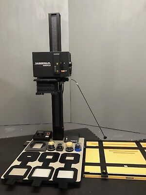 """Saunders LPL 4550XLG 4x5"""" Enlarger w/VCCE K&IF Module (LIKE NEW)"""