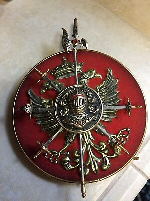 Vintage Code Of Arms Minsons Swords Eagle NEAT