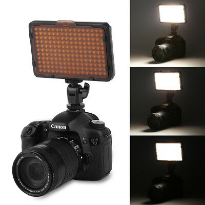 Craphy PT-176S Dimable Ultra LED Video Light Panel for DSLR Camera Camcorder