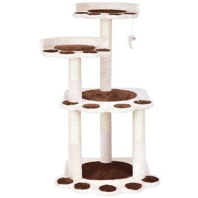 """42""""Multi-level Paw Cat Play Tree Furniture House Condo Climb Scratching Post Hot"""
