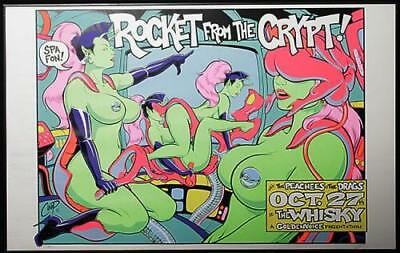 At The Whisky - October 27th Rocket From The Crypt poster USA