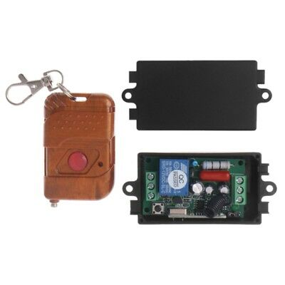 220V 10A 1CH Wireless Relay Remote Control Switch 433MHz Transmitter + Receiver